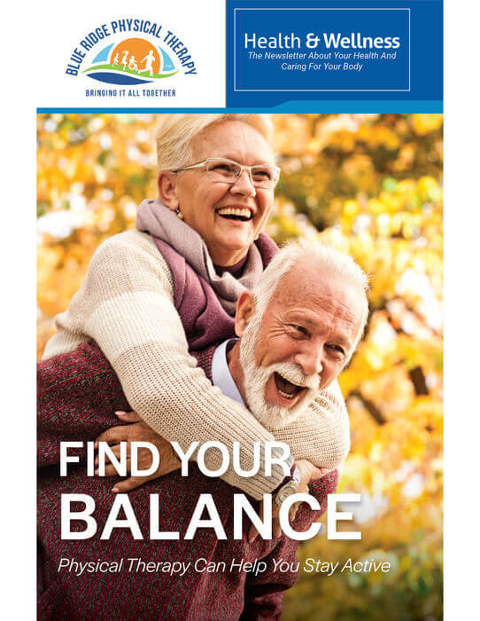 find your balance newsletter blueridge